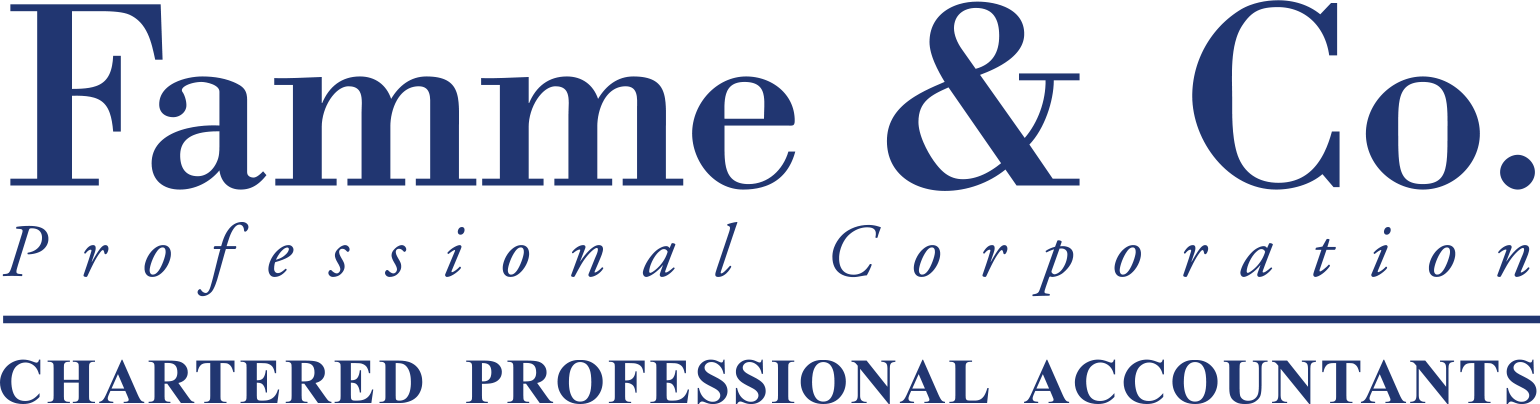 Famme & Co. Professional Corporation: Chartered Professional Accountants